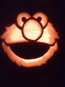 The teal pumpkin project and 10 cute pumpkin stencils for Elmo pumpkin template
