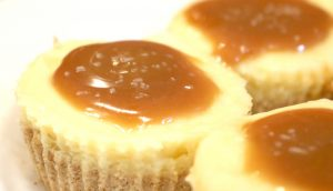 Salted Caramel Pretzel Cheesecake Bites Recipe
