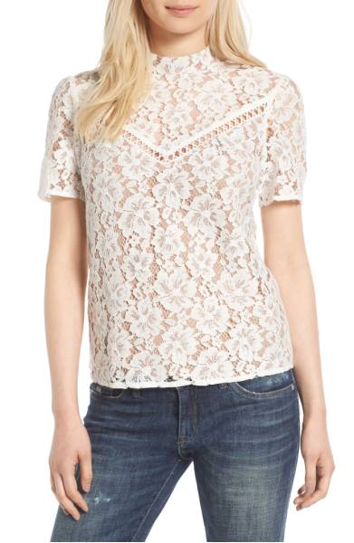 greyson lace top